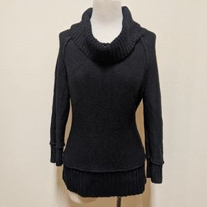 3for$20 loft  black turtleneck medium